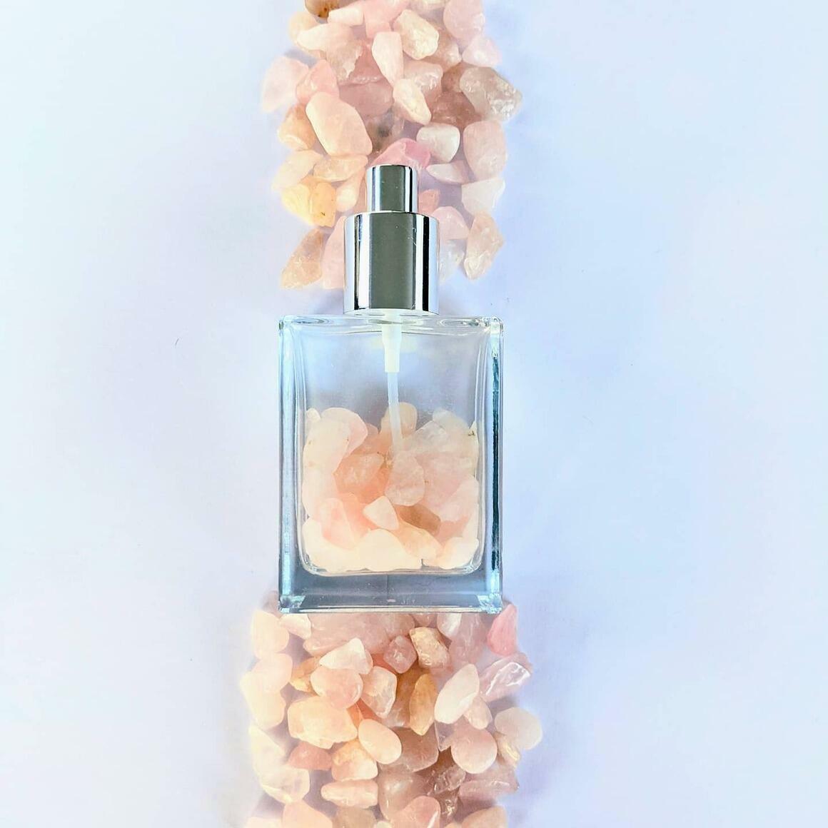 Rose Quartz Crystal infused Body mist 100ml   Trada Marketplace