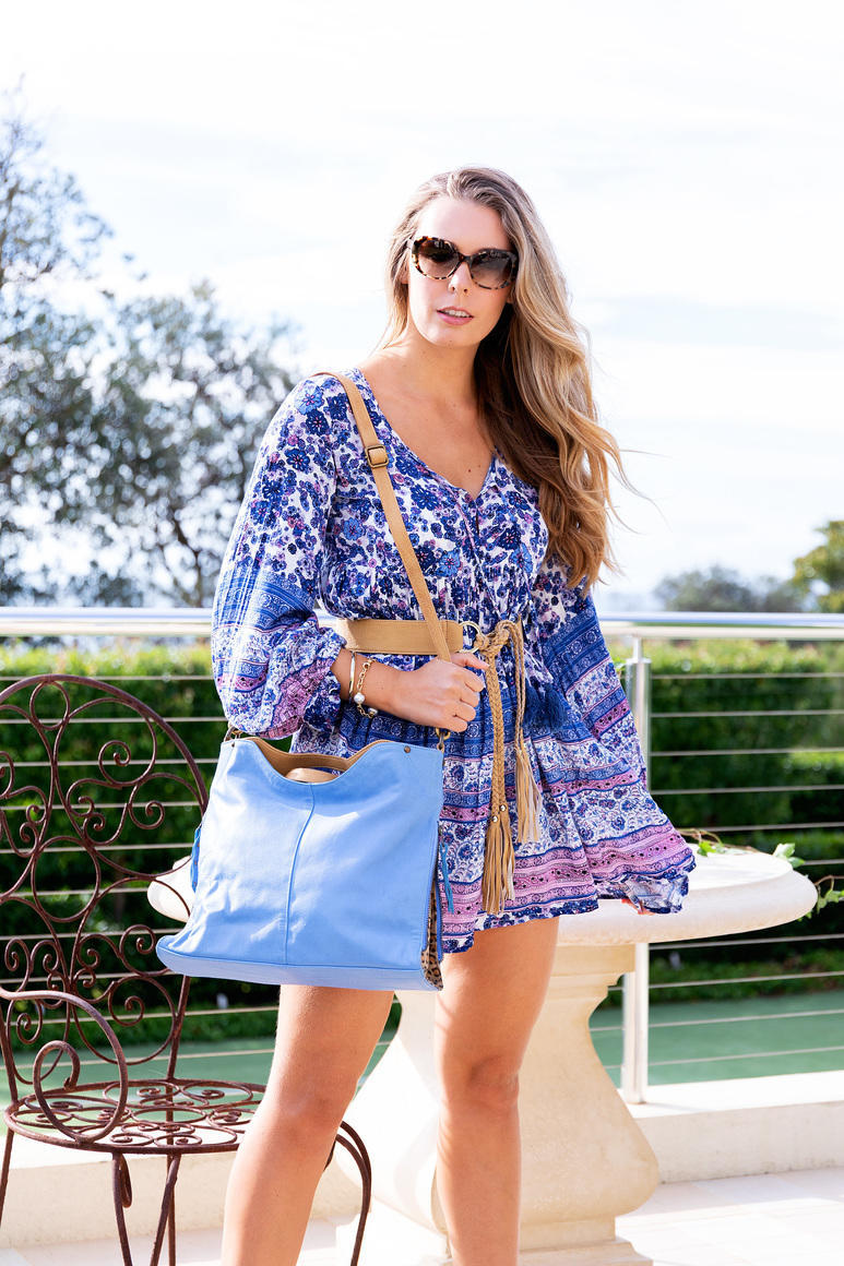 Cassandra Contrast Leather Handbag   Trada Marketplace