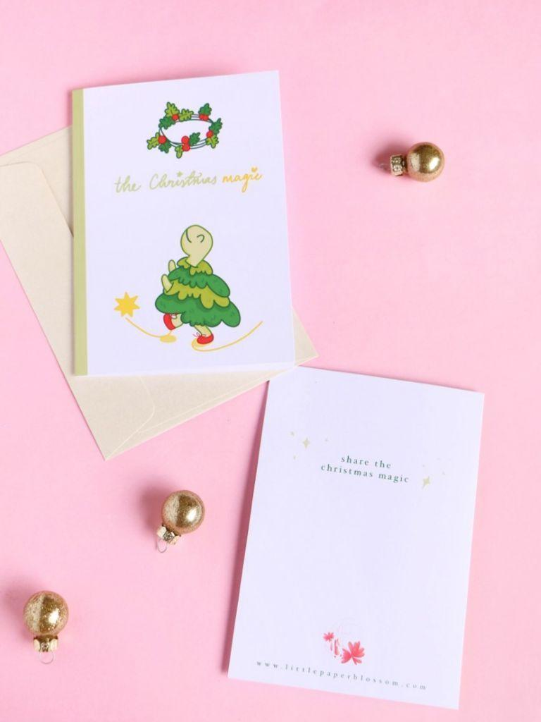 Merry the Turtle Card | Trada Marketplace