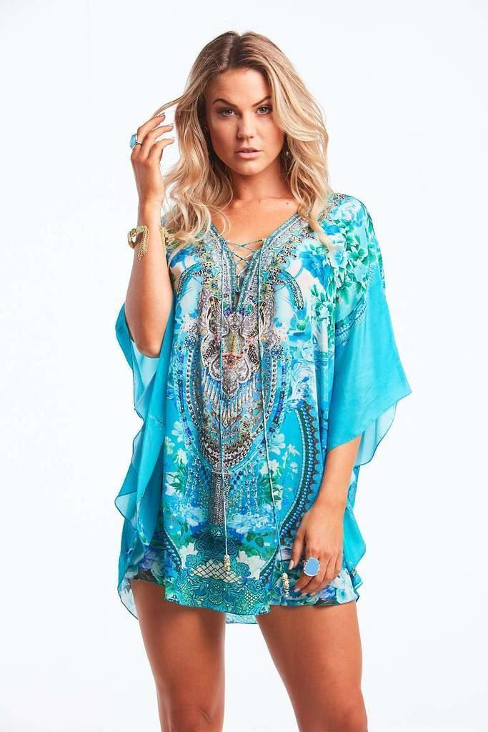 Those Blue Eyes Butterfly Top | Trada Marketplace