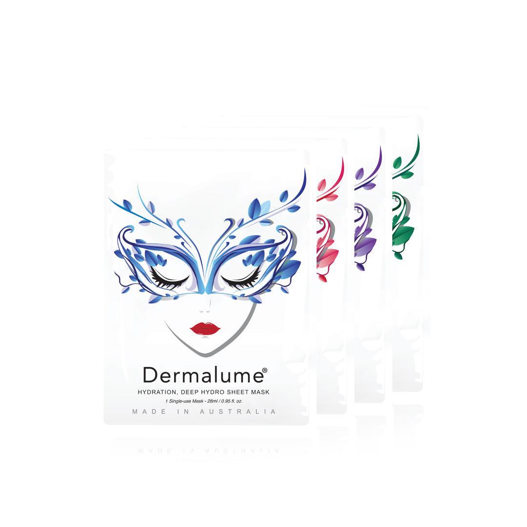 Dermalume sheet mask starter kit 28ml x 20pcs | Trada Marketplace