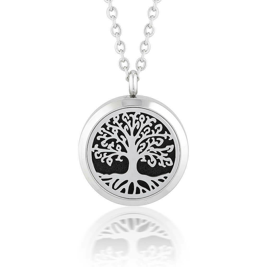 Tree of life Aromatherapy/ Essential Oil Diffuser Locket Necklace   Trada Marketplace