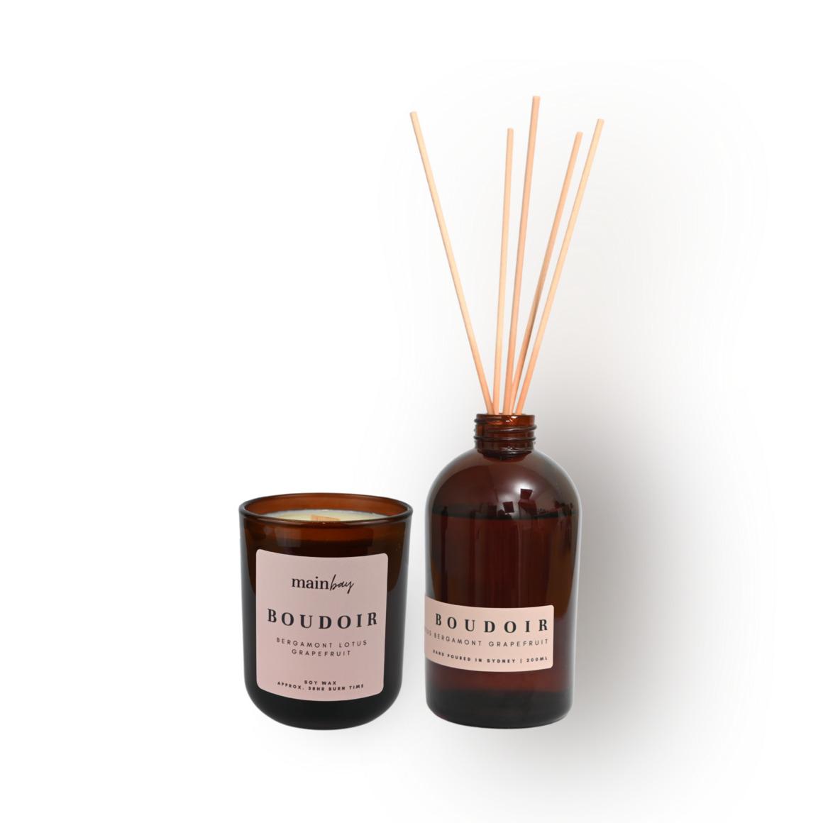 Boudoir Set | Lotus, Bergamot, Grapefruit | Umber Collection | Trada Marketplace