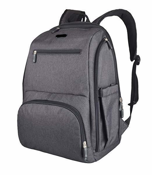 La Tasche Metro Backpack - Charcoal | Trada Marketplace