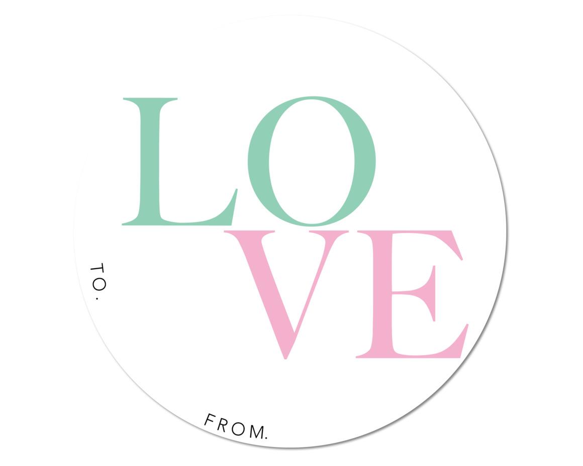 LOVE 4 - SET OF 6  | Trada Marketplace
