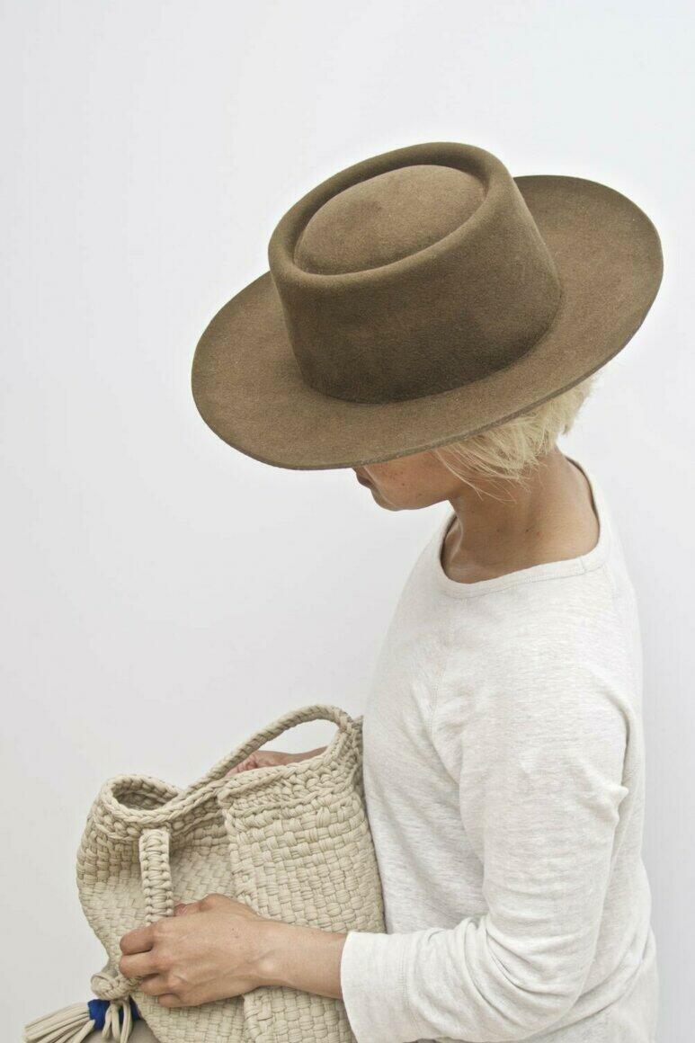 ALL SEASON WOOL FELT HAT - spanish  | Trada Marketplace