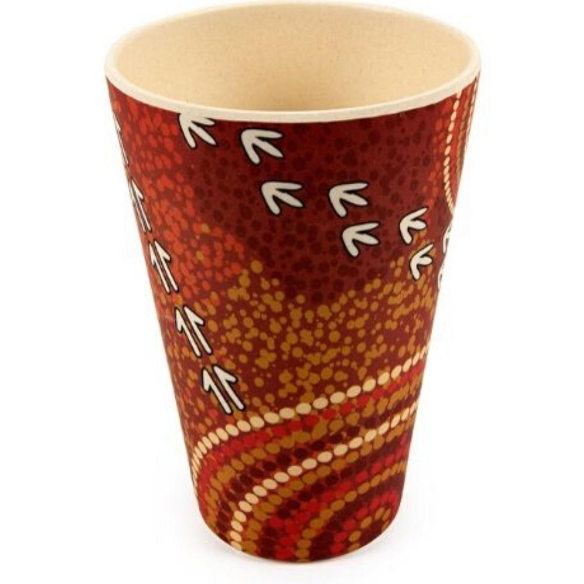Tumblers Bamboo Aboriginal Design Dry Design Luther Cora Set of 2   Trada Marketplace