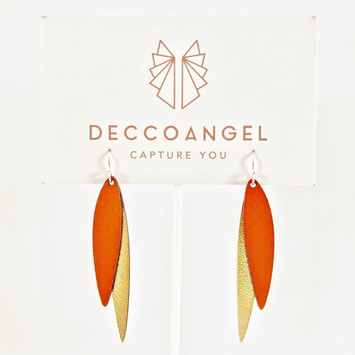 Feathers Duo Earrings | Trada Marketplace
