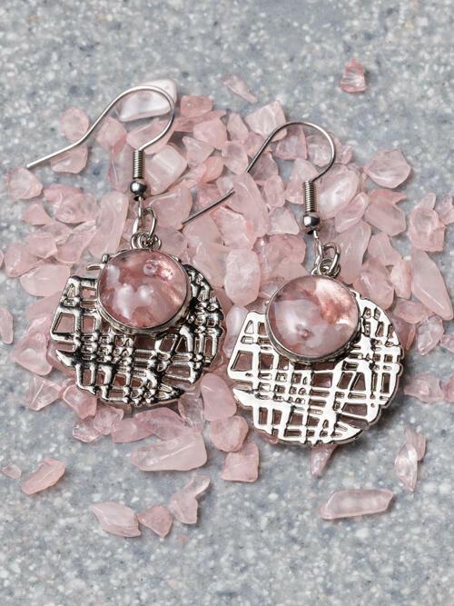Rose Quartz Earring | Trada Marketplace