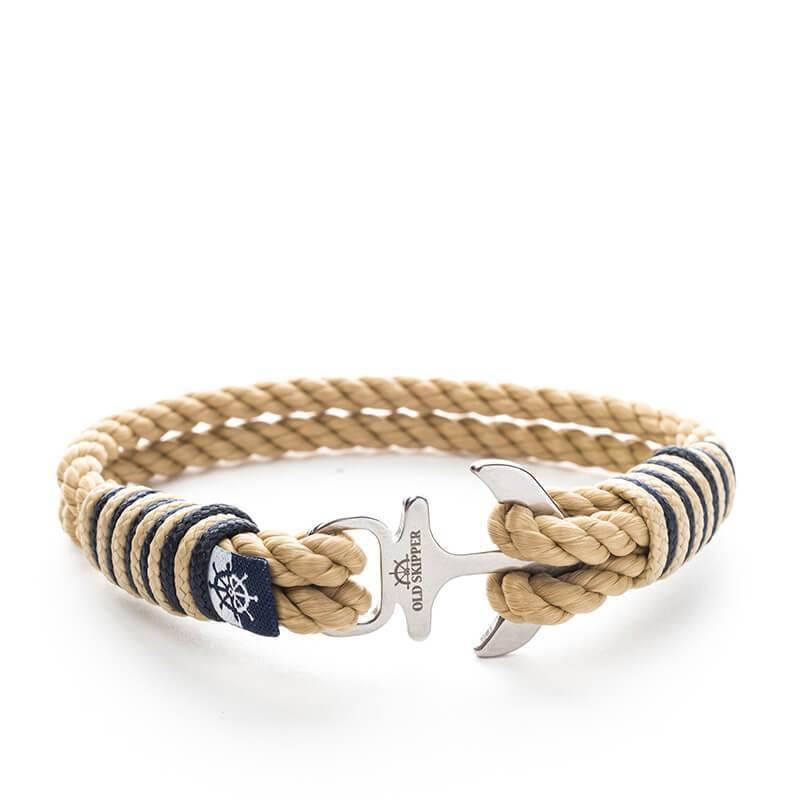 Blanco - Nautical Rope Anchor Bracelet | Trada Marketplace