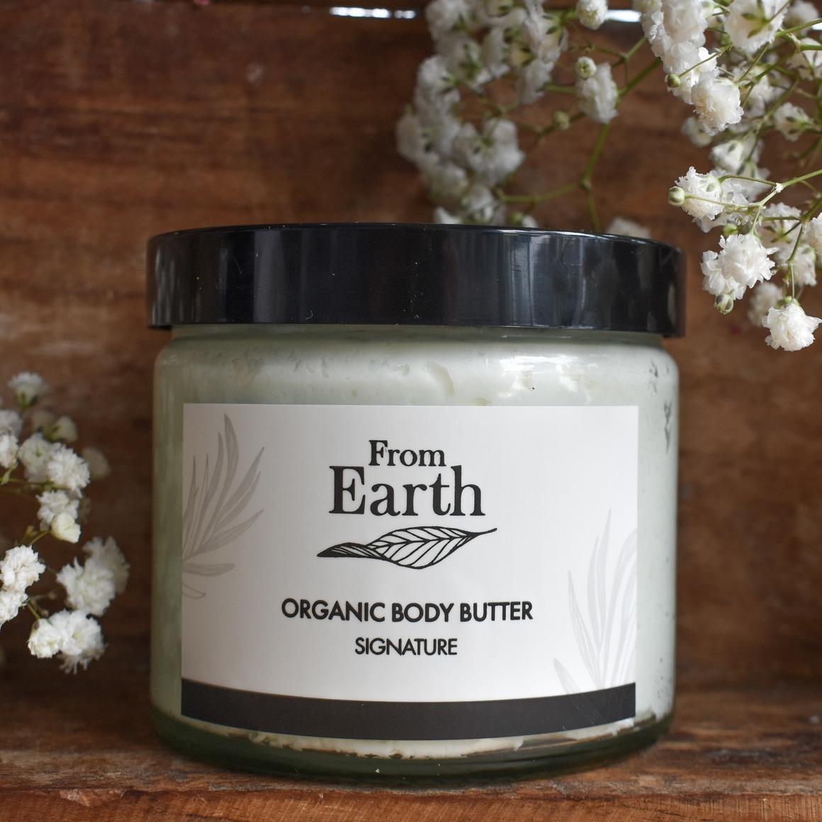 Organic Body Butter Signature   Trada Marketplace