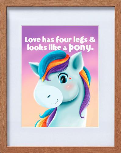 cute pony frame | Trada Marketplace