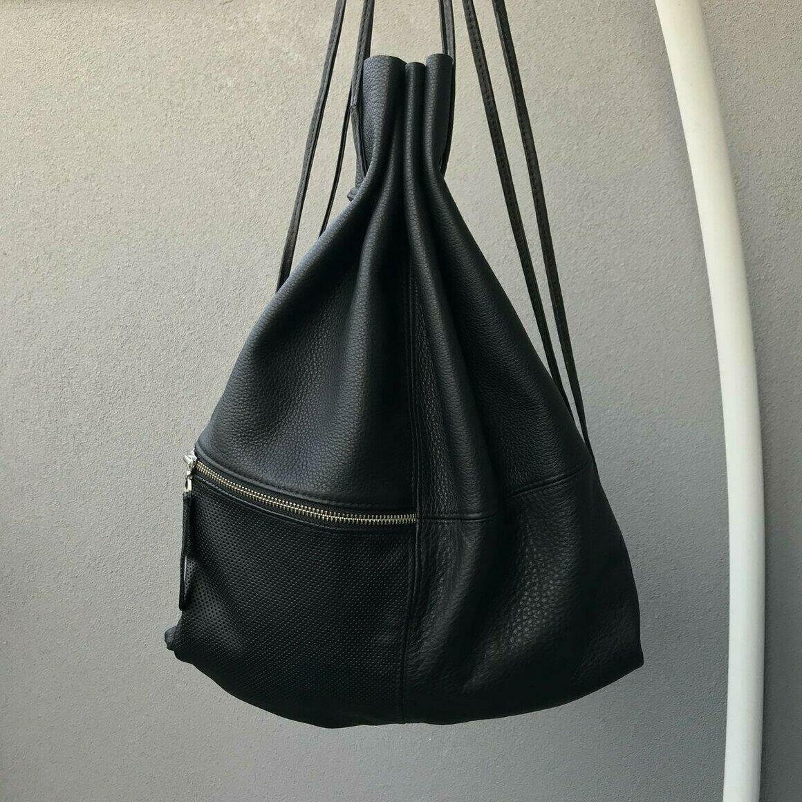 SILNA Drawstring Backpack | Trada Marketplace