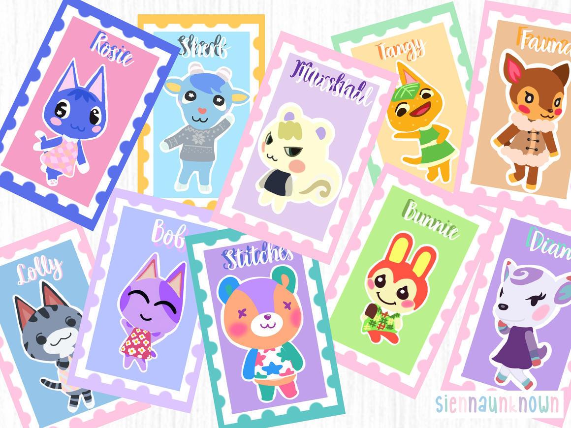 Animal Crossing Art Print | Trada Marketplace
