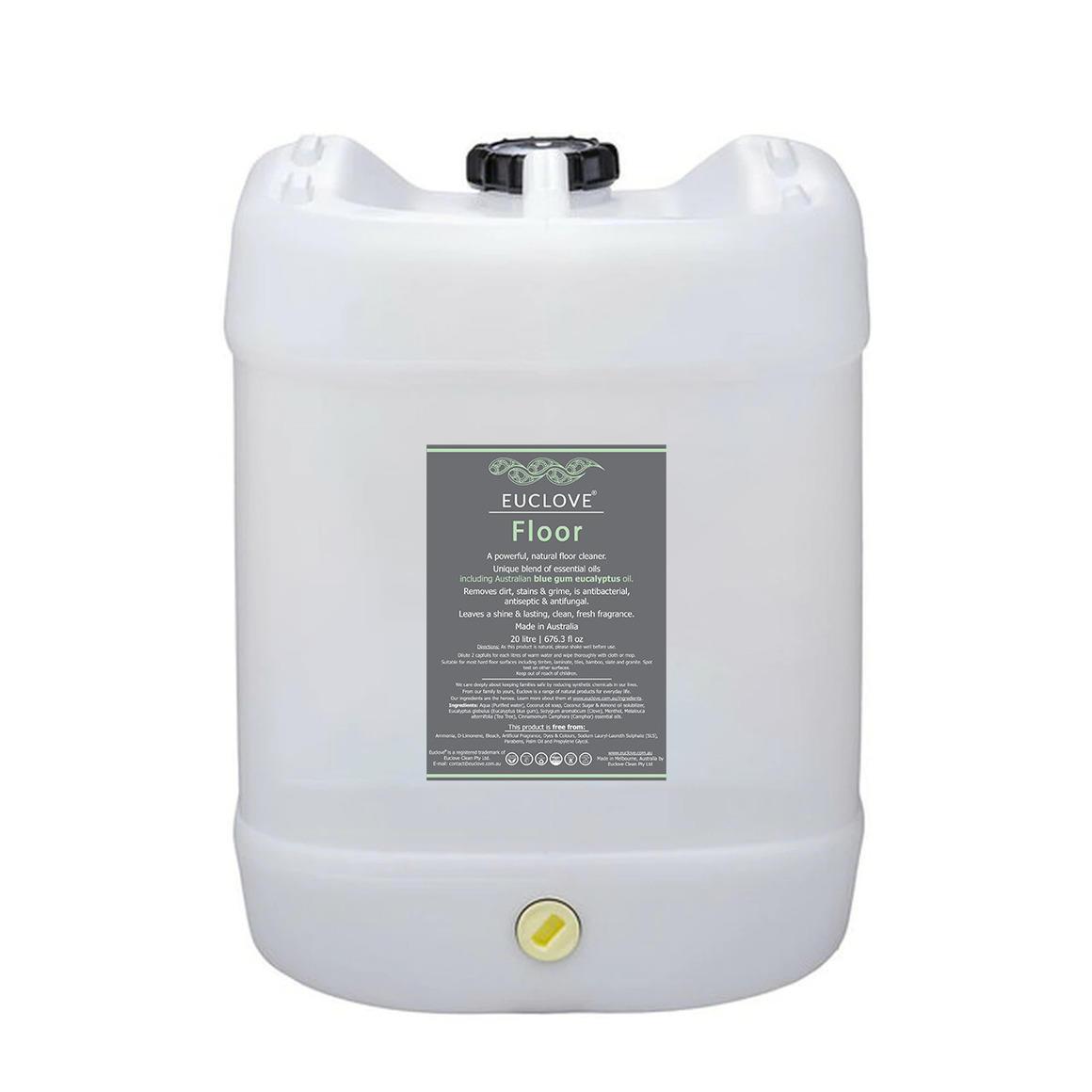 Euclove Floor Cleaner 20 litre zero-waste bulk can | Trada Marketplace
