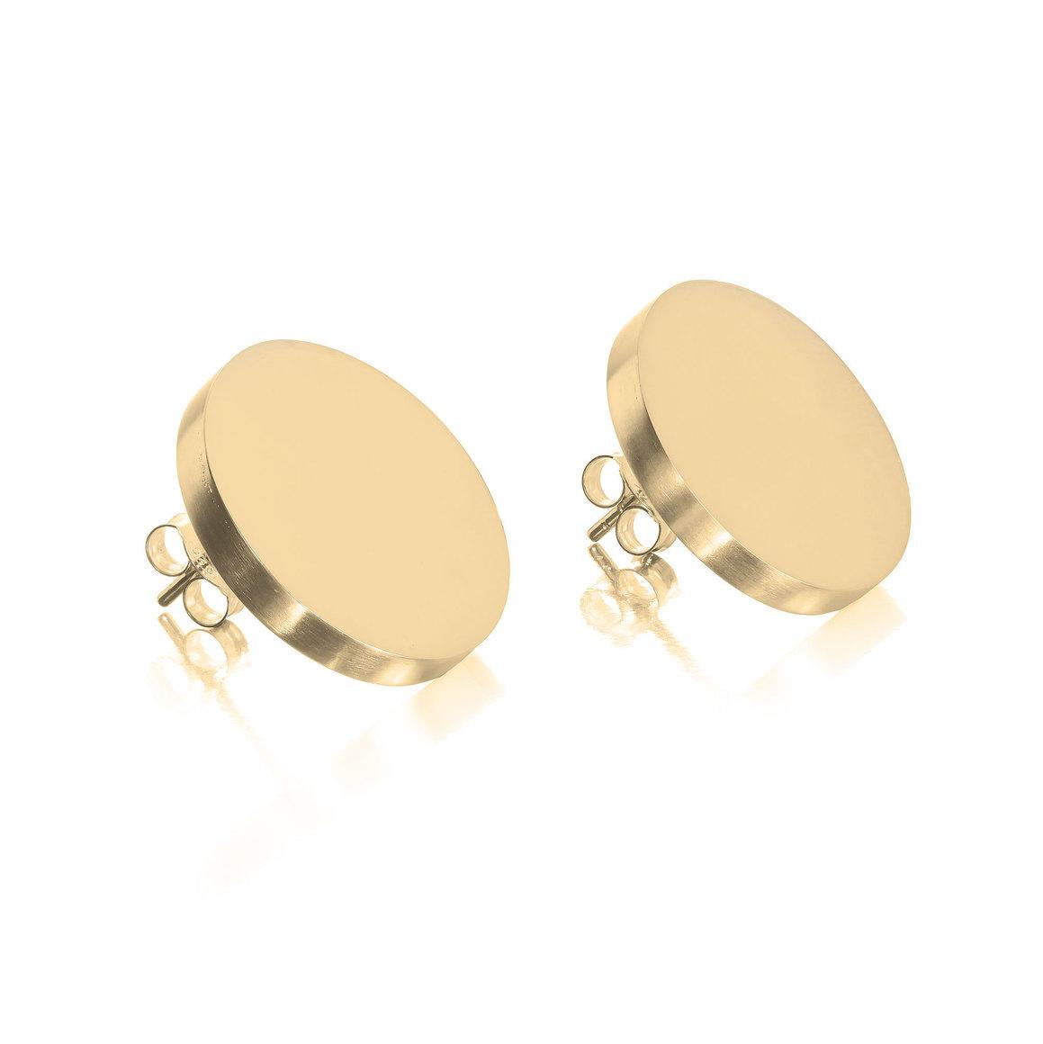 Large Disc Earrings | Trada Marketplace