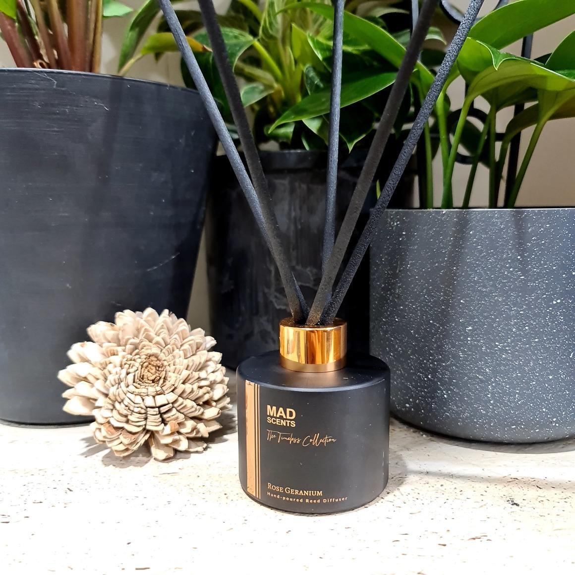 Rose Geranium Reed Diffuser | Trada Marketplace