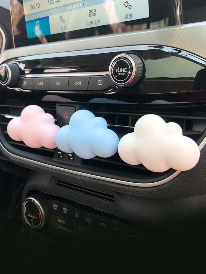 Aroma Stone ( Green Cloud ) Car Air Vent Diffuser | Trada Marketplace