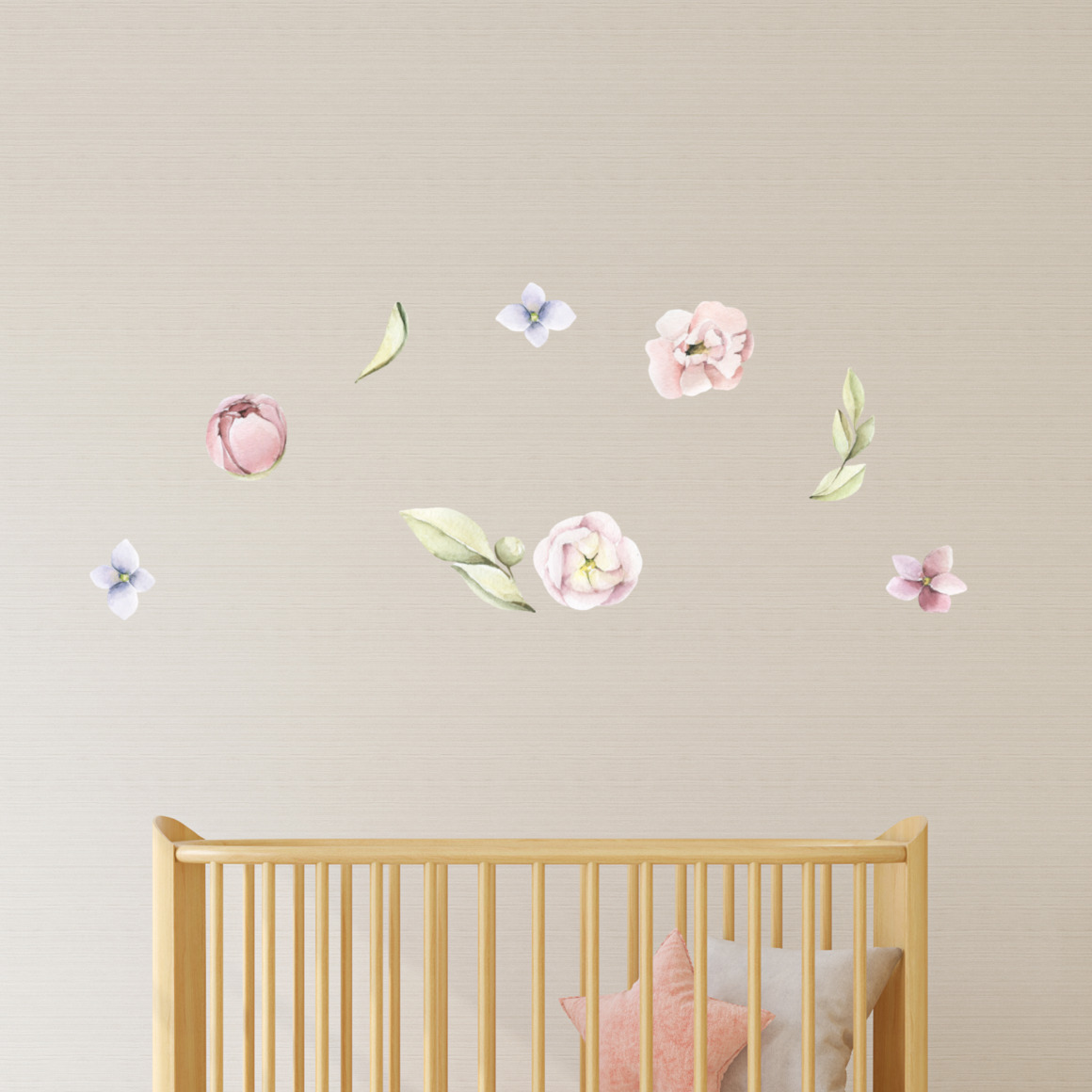 Fabric wall decals - Floral   Trada Marketplace