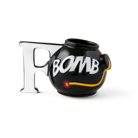 BigMouth F-Bomb Coffee Mug   Trada Marketplace