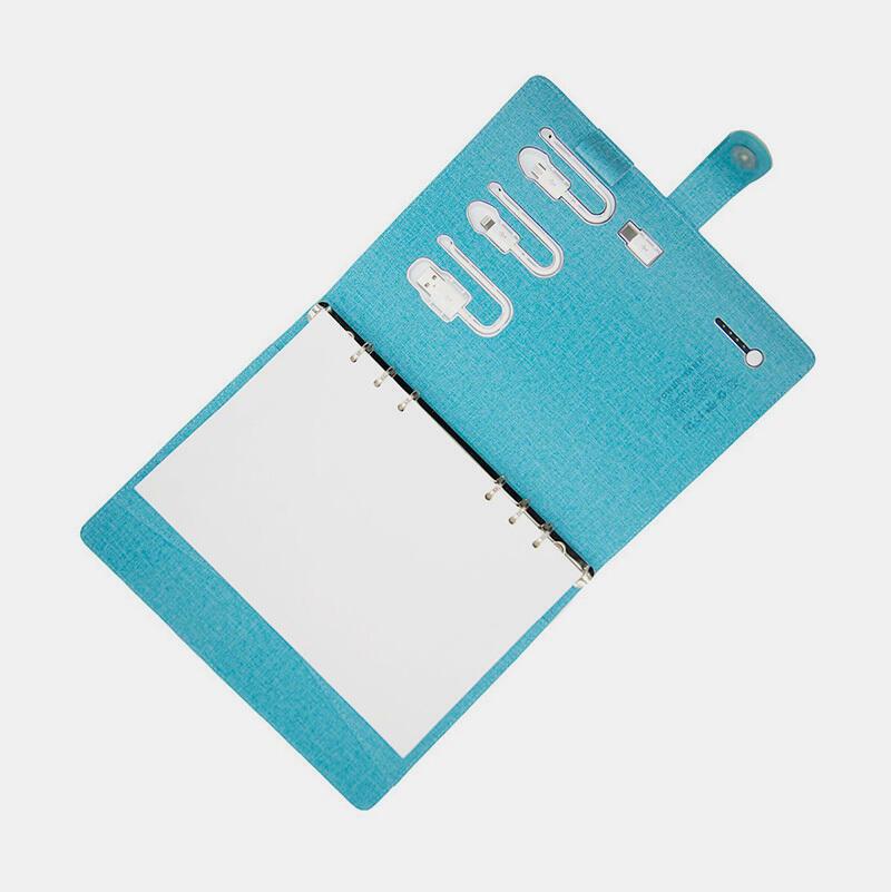 PowerBank Notebook Case - Ocean Blue | Trada Marketplace