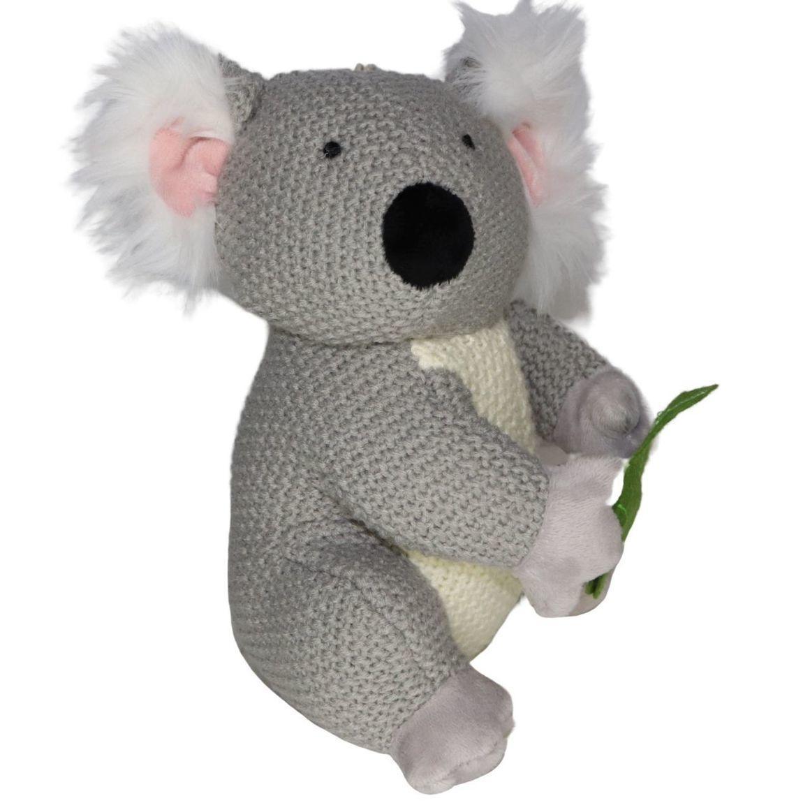 Plush Toy Koala - Eucalyptus leaf   Trada Marketplace