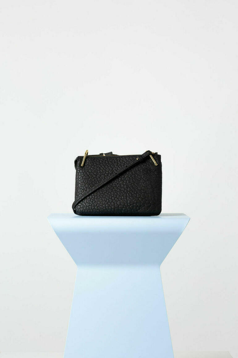 Fifi Mini Bag in Black Bubble   Trada Marketplace