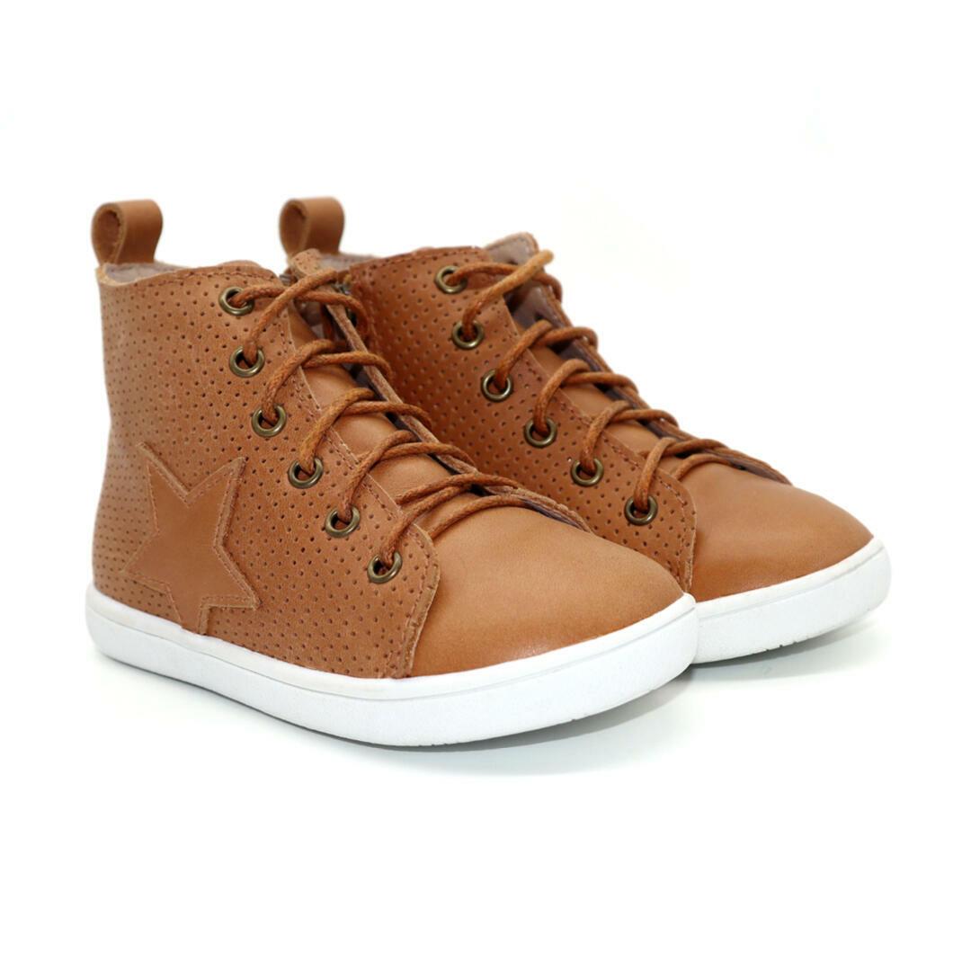 Seren Child hightop boot - Tan | Trada Marketplace