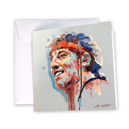 Bruce Springsteen Greeting Card | Trada Marketplace