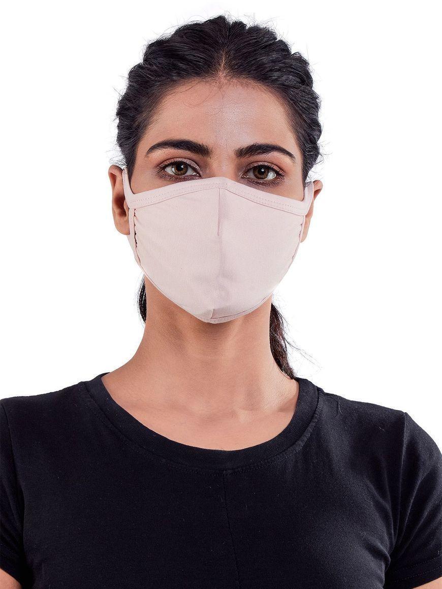 Nude-jersey-cotton-three-layer-womens-mask | Trada Marketplace