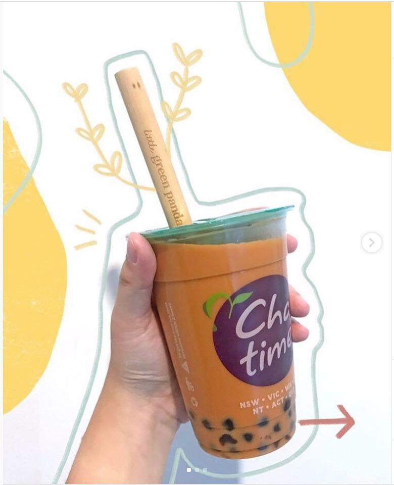 2 Jumbo size Bubble Tea Straws + 1 Cleaning Brush Travel Pouch | Trada Marketplace