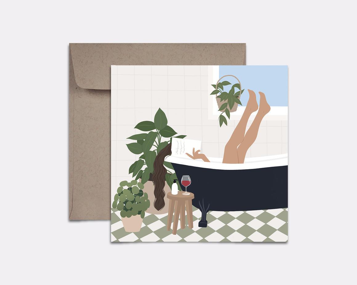 Bath Time Card | Trada Marketplace