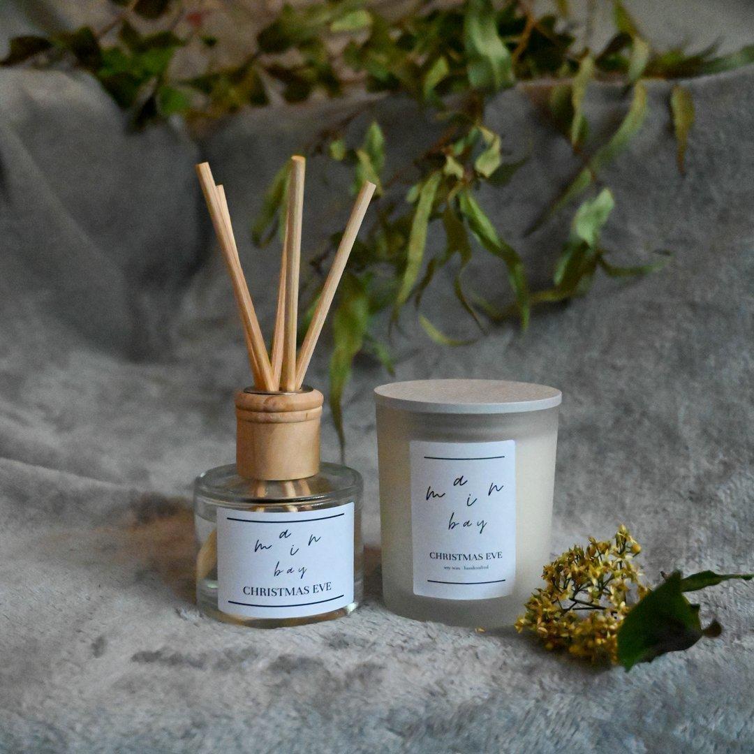 Christmas Eve Milieu Candle and Diffuser Set | Trada Marketplace