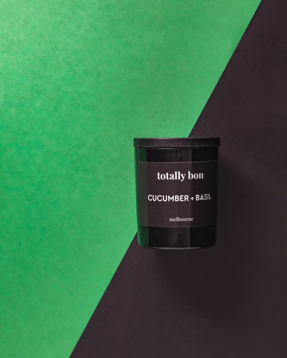 CUCUMBER + BASIL BLACK   Trada Marketplace