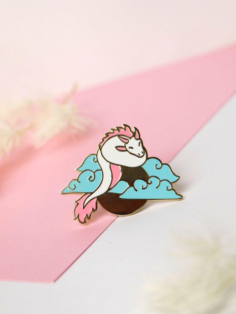 Lucky the Dragon Pin | Trada Marketplace