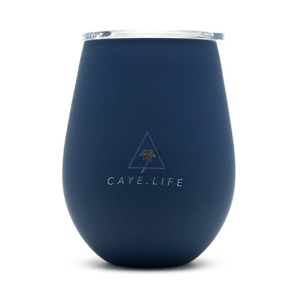 Hvar Matte Navy Blue Thermo Cup | Trada Marketplace