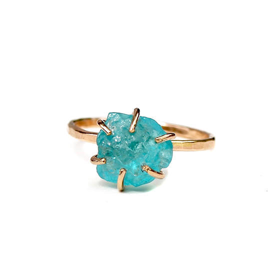 Apatite Ring Sterling Silver | Trada Marketplace