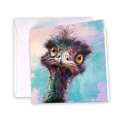 Emu Greeting Card | Trada Marketplace