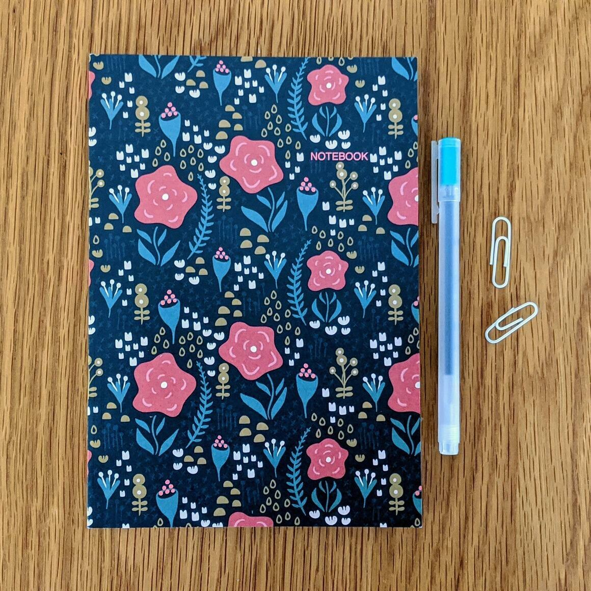 Night Garden A5 Notebook   Trada Marketplace