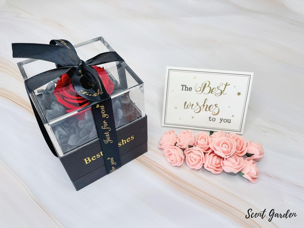 Preserved Roses Jewellry Gift Box | Trada Marketplace