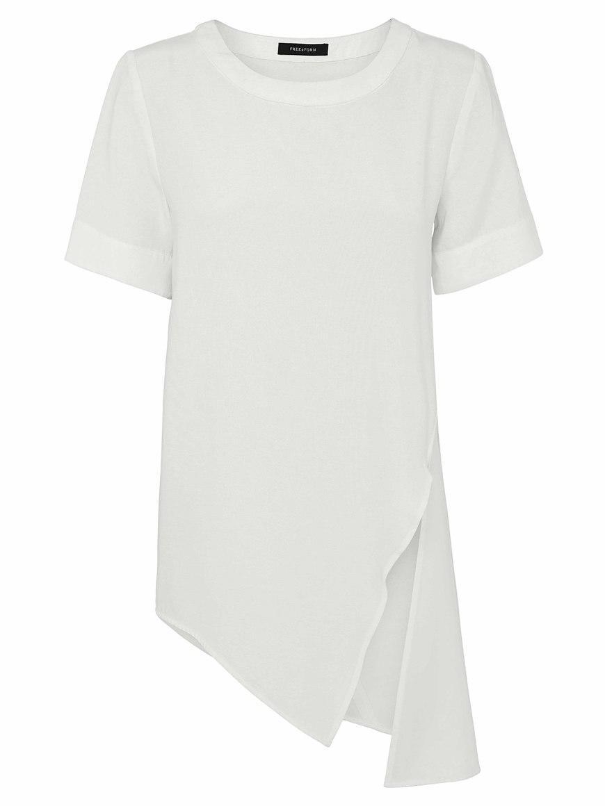 TUCK IT TUNIC TOP (WHITE) | Trada Marketplace