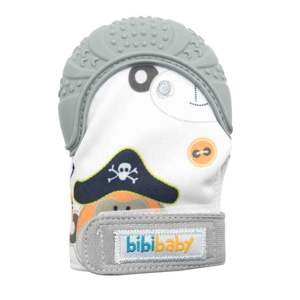 BibiBaby Teething Mitts - Grey   Trada Marketplace