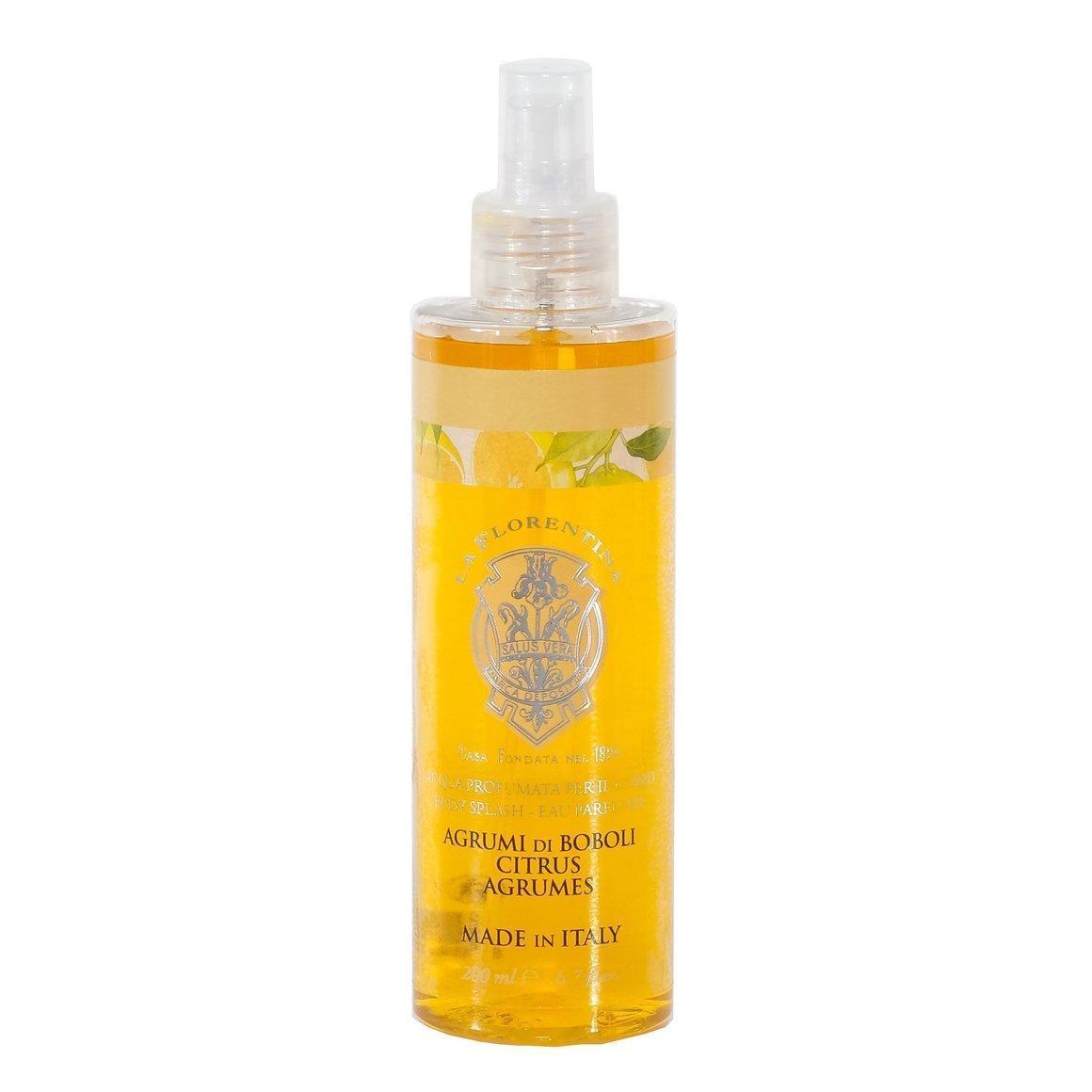 La Florentina Boboli Citrus Body Splash Natural Tuscan Scent 200 ml   Trada Marketplace