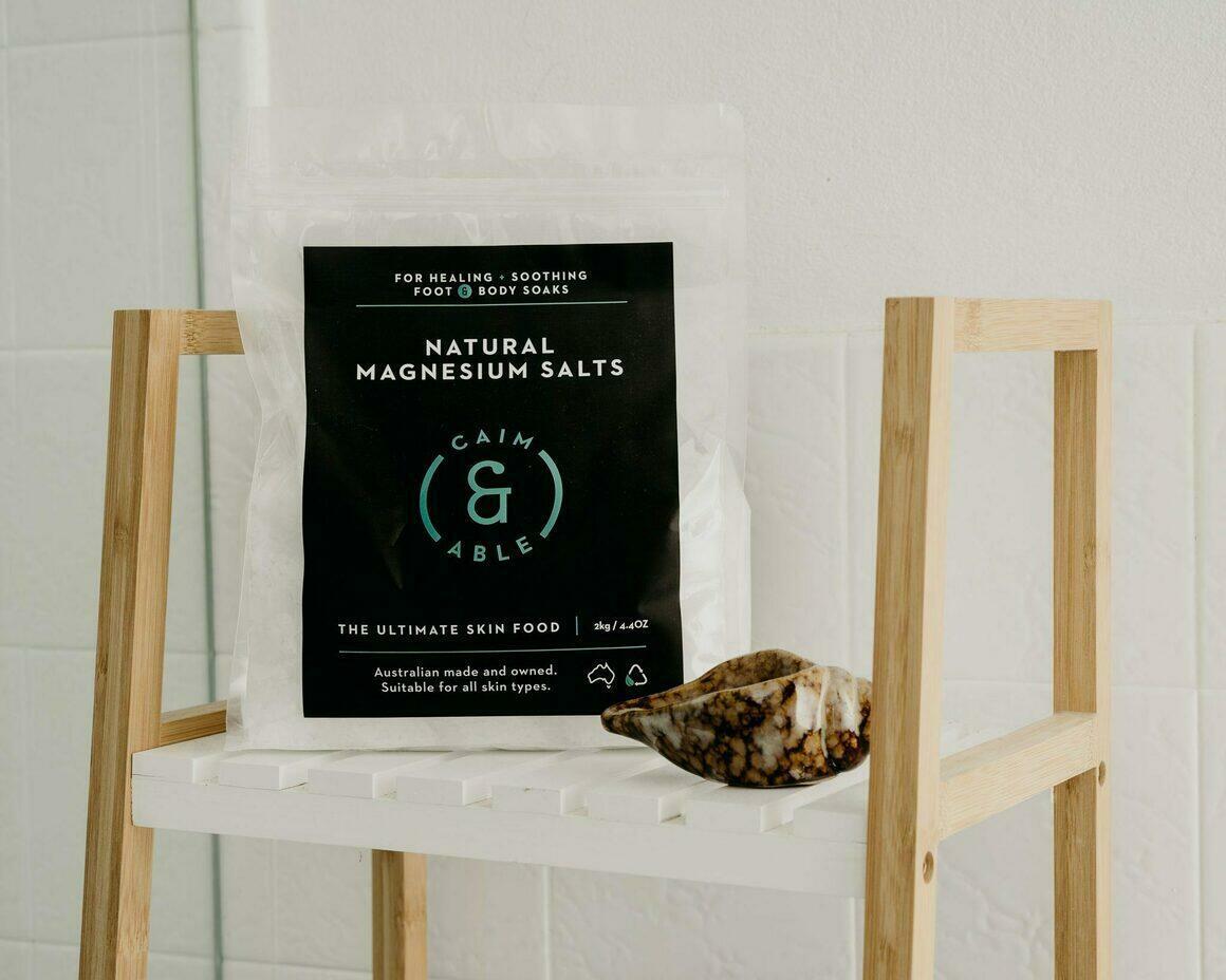 Pure Magnesium Bath Flakes | Trada Marketplace
