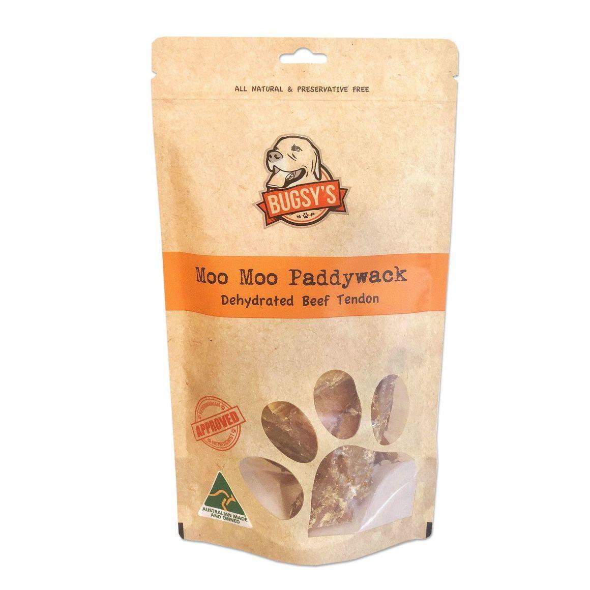 Moo Moo Paddywack | Dehydrated Beef Tendon 200g | Trada Marketplace