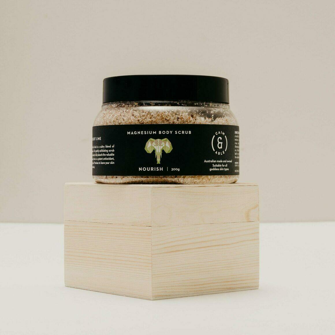 Coconut And Desert lime Salt Scrub - Deeply Nourishing | Trada Marketplace