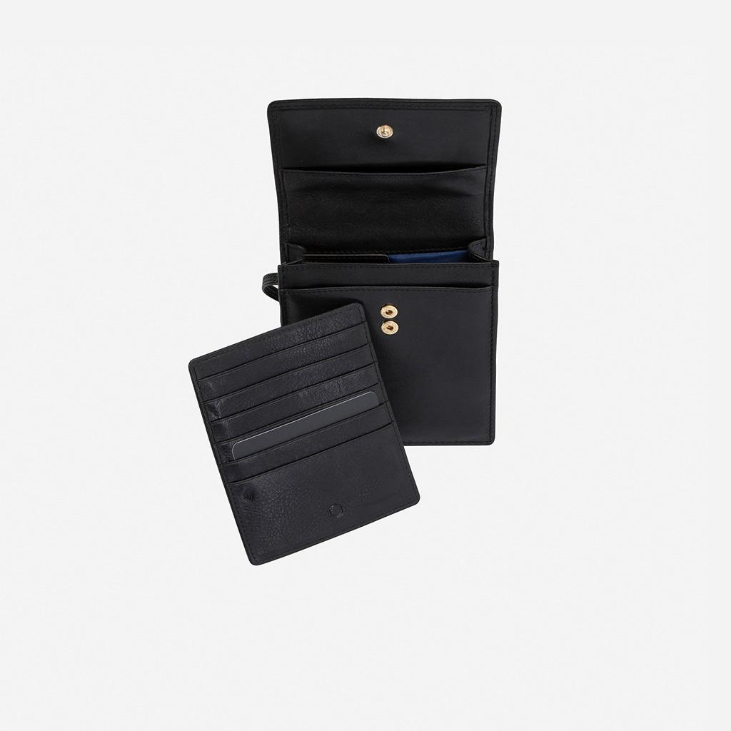 Contemporary Leather Crossbody Bag BLACK | Trada Marketplace