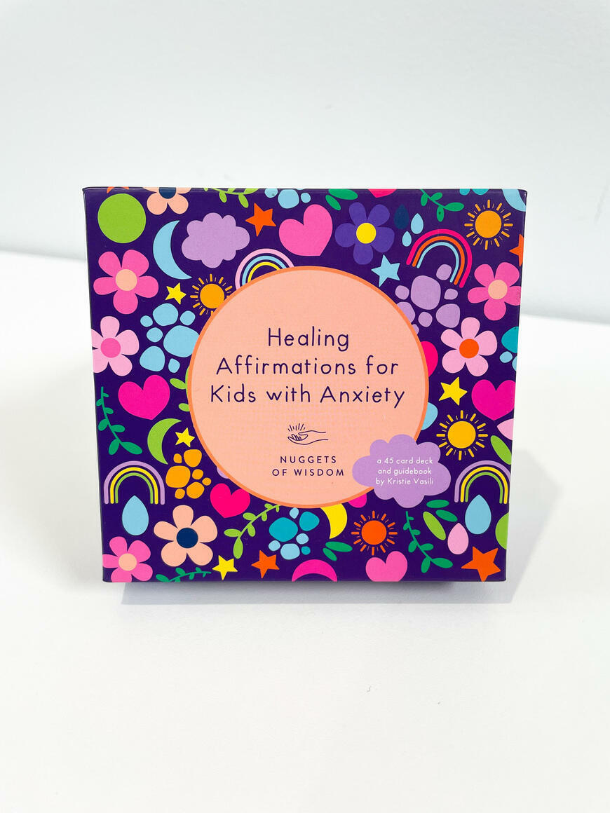 Healing Affirmations for Kids with Anxiety Affirmation Cards | Trada Marketplace