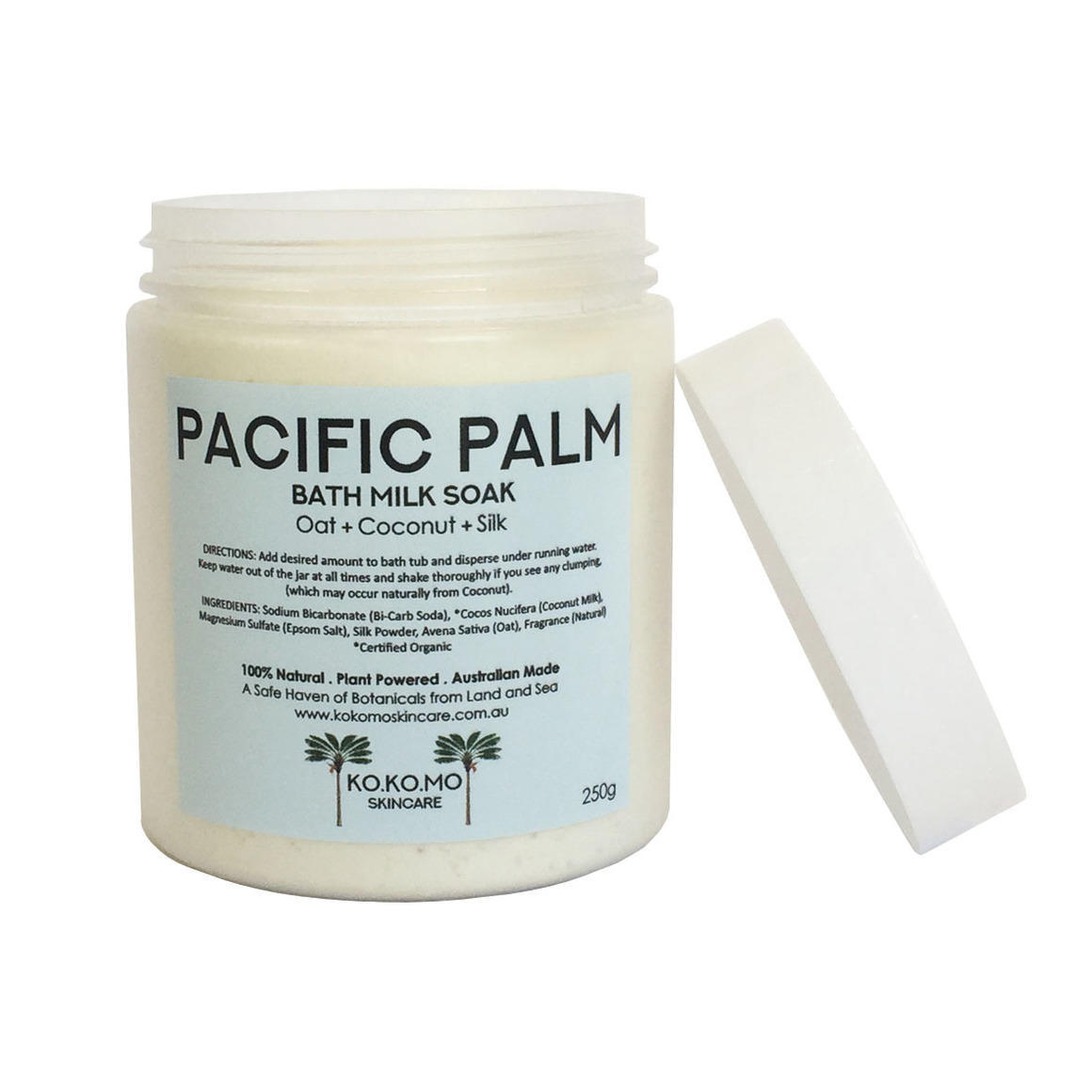 Pacific Palm Bath Milk   Trada Marketplace