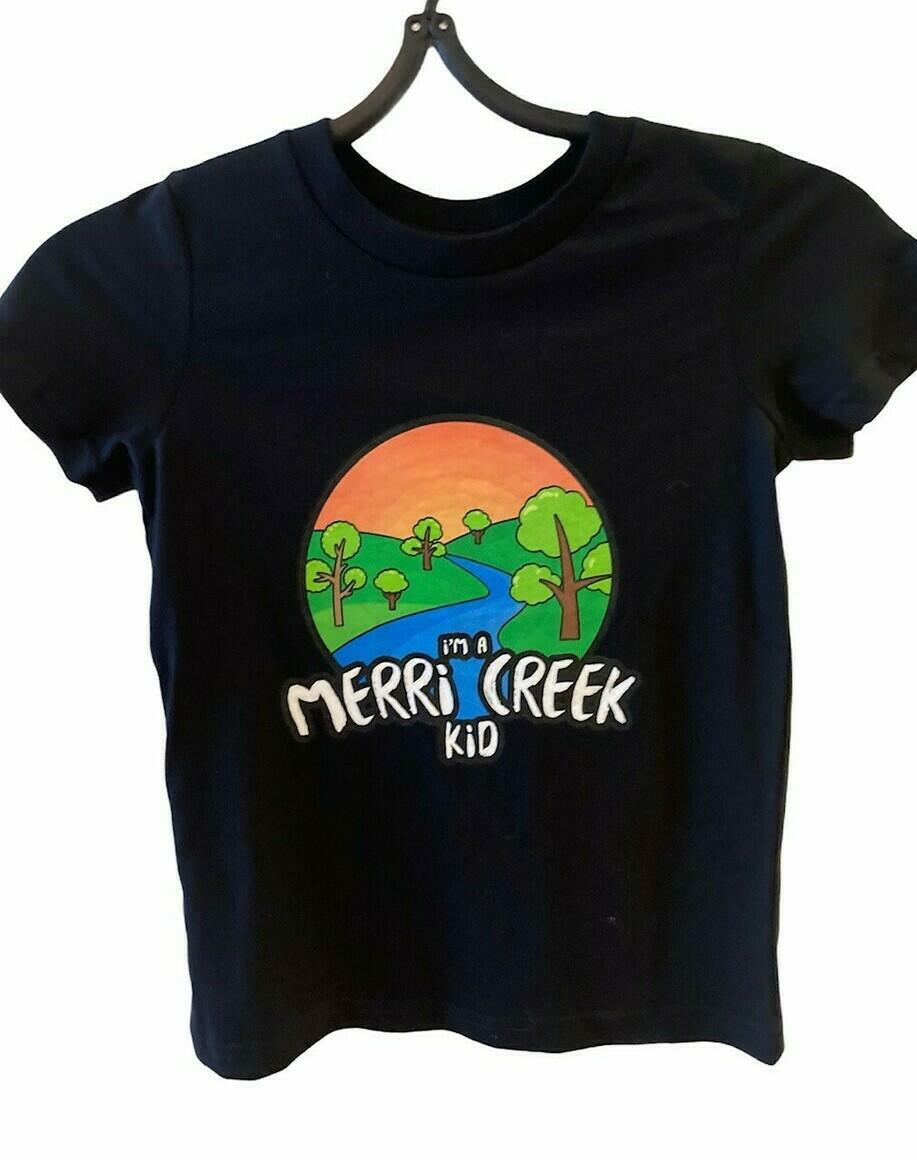 Merri Creek Kid T-Shirt in black   Trada Marketplace